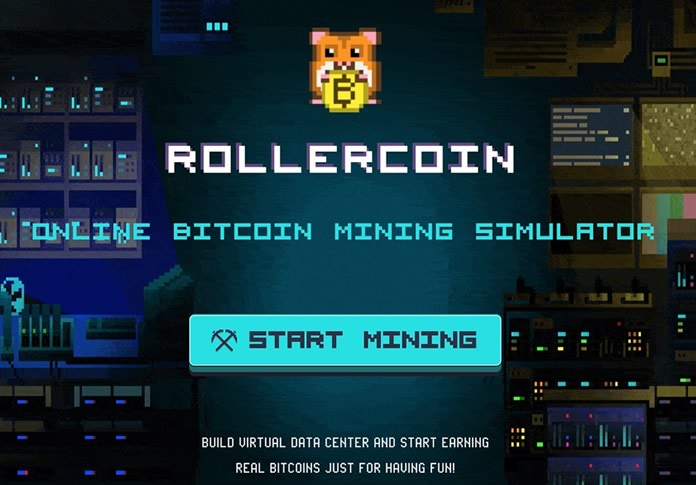 Rollercoin, free mining game