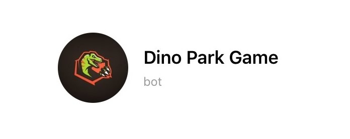 Dino Park Game, gioco per Telegram