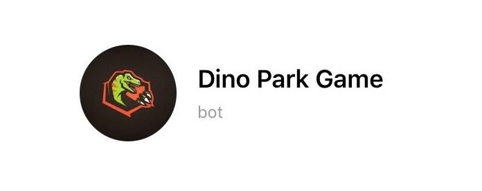 Dino Park Game, gioco per Telegram